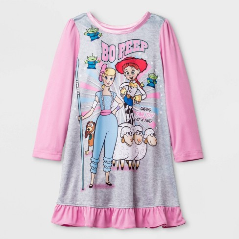 Toddler Girls' Toy Story Dorm One Piece Pajama - Pink - image 1 of 1