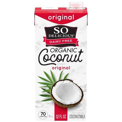 So Delicious Dairy Free UHT Original Coconut Milk - 1qt - image 1 of 4