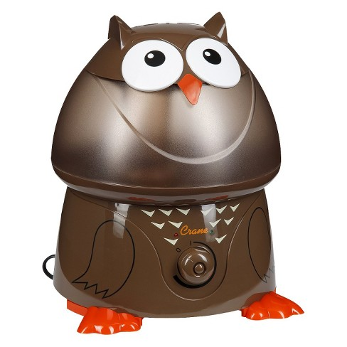 Crane Adorable Owl Ultrasonic Cool Mist Humidifier - 1gal - image 1 of 2