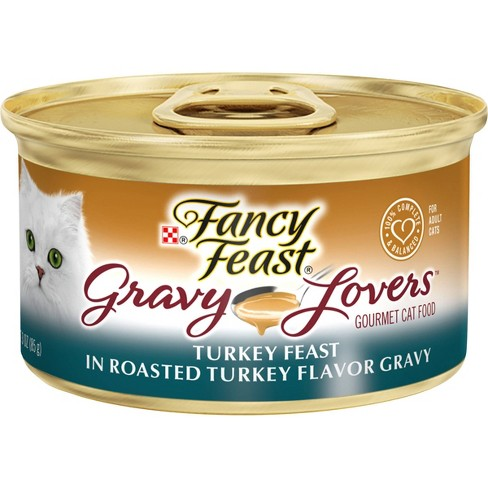 Purina Fancy Feast Gravy Lovers Wet Cat Food Can - 3oz - image 1 of 4