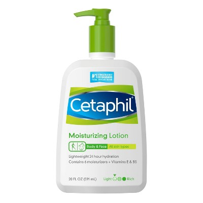 Cetaphil Moisturizing Body and Face Lotion