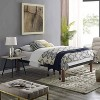 Classic Brands DeCoro Devon Modern Style Wood Slat and Metal Platform Bed Frame with 14 Inch Legs and No Box Spring Required, Queen Size - image 3 of 4
