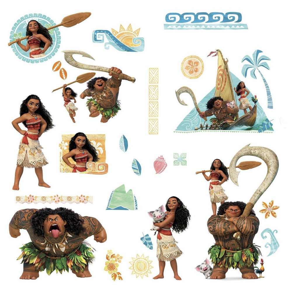 Moana Wall Decals, Wall Decal