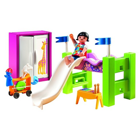 Playmobil Childrens Room Loft and Slide - image 1 of 2