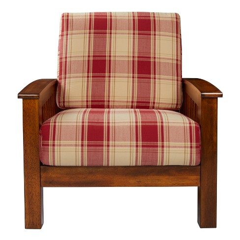 Maison Hill Mission Style Arm Chair - Handy Living - image 1 of 5
