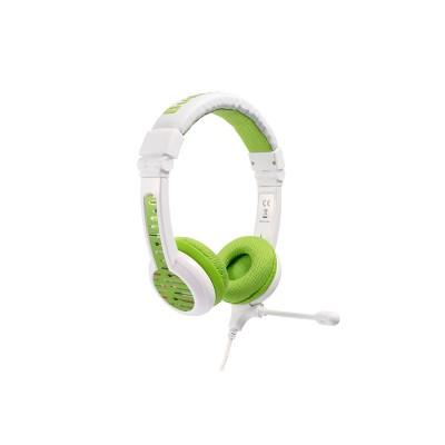 BuddyPhones School Kids Wired Headphones - Green