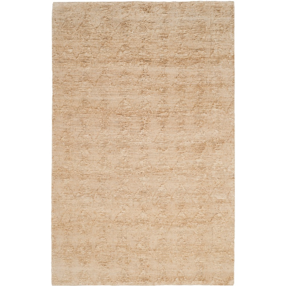 5'X8' Solid Woven Area Rug Light Beige/Light Gray - Safavieh