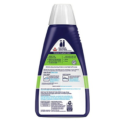 BISSELL® 2X Pet Stain & Odor 32oz. Portable Spot & Stain Cleaner Formula - 74R7