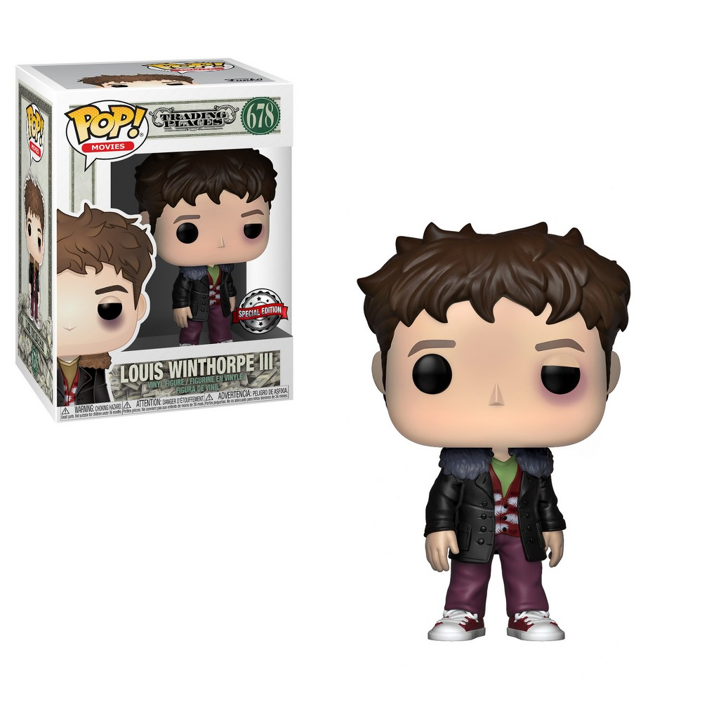 Image of Funko POP! Movies: Trading Places - Louis Winthorpe III - Beat Up (Exclusive)