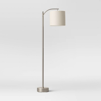 Downbridge Collection Floor Lamp Silver (Includes Energy Efficient Light Bulb)- Threshold™