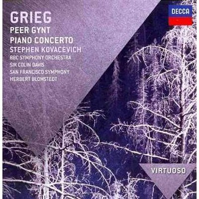 Blomstedt/San Francisco Sym/Kovacevich - VIRTUOSO: Grieg: Peer Gynt; Piano Concerto (CD)