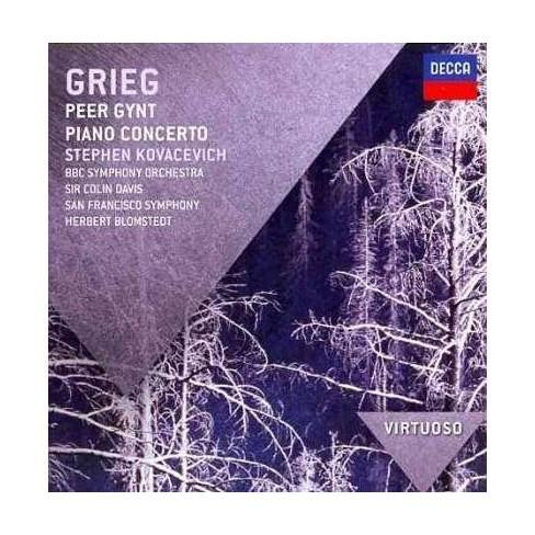 Herbert Blomstedt - Virtuoso: Grieg- Peer Gynt/Piano Concerto (CD) - image 1 of 1