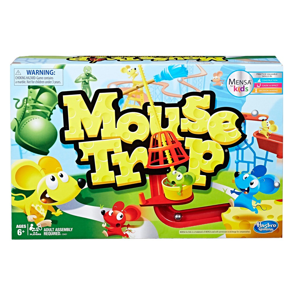 Hasbro Mouse Trap Game, Board Games