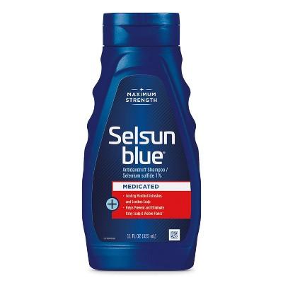 Selsun Blue Medicated with Menthol Dandruff Shampoo - 11 fl oz