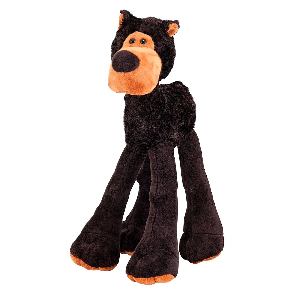 Melissa & Doug Black Bear Stuffed Animal With Extra-Long Lanky Legs (over 12 inches tall)