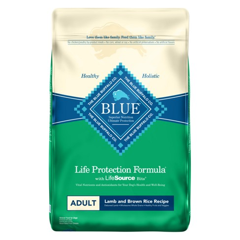 Blue Buffalo Adult Lamb & Brown Rice - Dry Dog Food - image 1 of 1