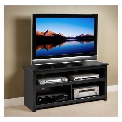 Vasari Flat Panel Plasma/LCD TV Console Black - Prepac