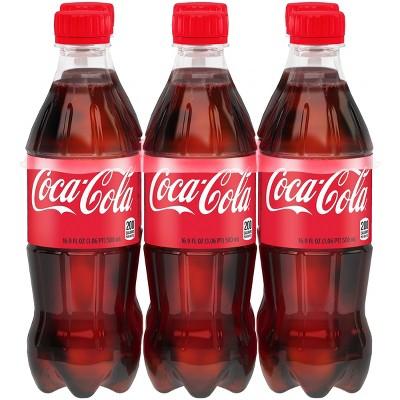 Coca-Cola - 6pk/16.9 fl oz Bottles