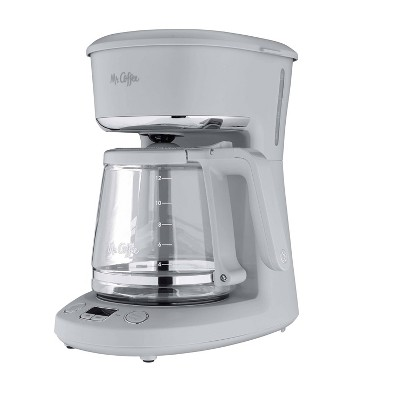 Mr. Coffee Programmable 12-Cup Coffee Maker - Pewter