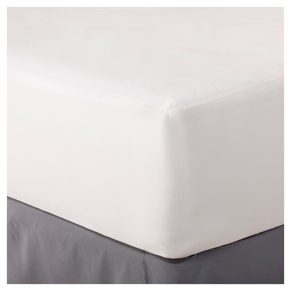 Flexible Fit Mattress Protector (Full) White - Threshold