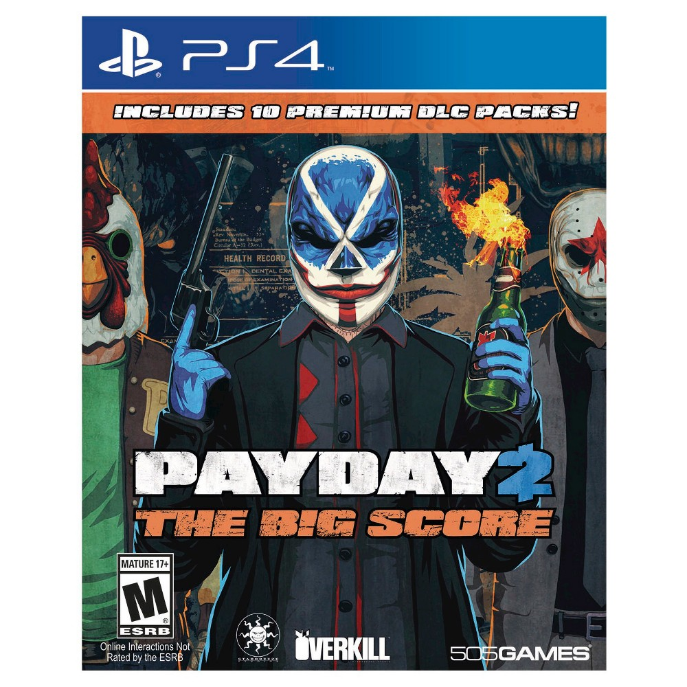 Pay Day 2: The Big Score PlayStation 4