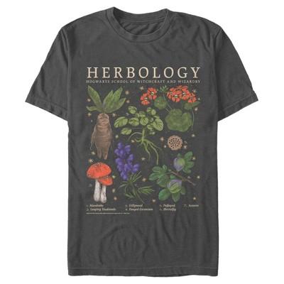 Men's Harry Potter Hogwarts Herbology T-Shirt
