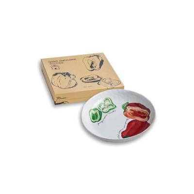 32oz Porcelain Farm To Table Pepper Serving Bowl - Rosanna