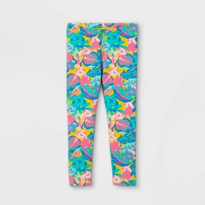 Toddler Girls' Floral Leggings - Cat & Jack™