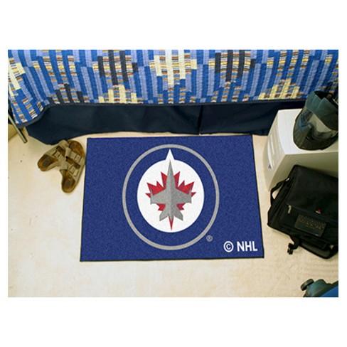 556df0432 NHL Fan Mats Starter Mat - Winnipeg Jets   Target