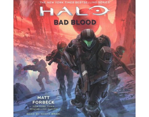 Bad Blood -  Unabridged (Halo) by Matt Forbeck (CD/Spoken Word) - image 1 of 1
