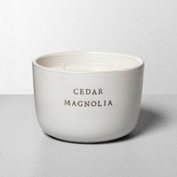 Ceramic Candle Cedar Magnolia - Hearth & Hand™ with Magnolia