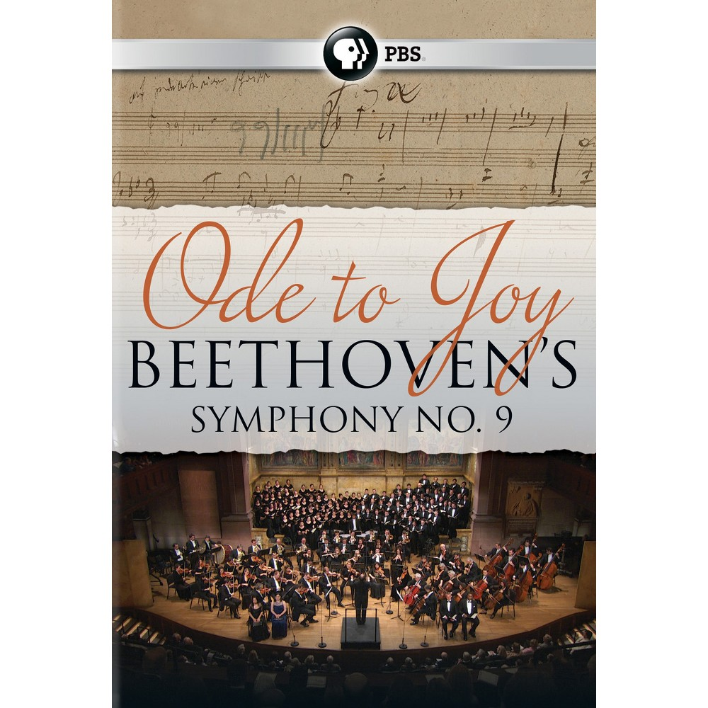 Ode To Joy:Beethoven's Symphony No 9 (Dvd)
