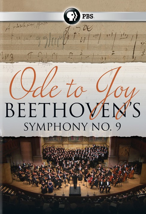 Ode to joy:Beethoven's symphony no 9 (DVD) - image 1 of 1