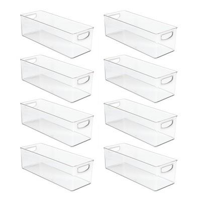 mDesign Stackable Storage Bin for DVDs, Video Games, Accessories