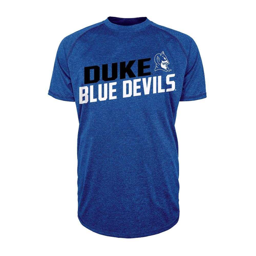 Duke Blue Devils Men's Short Sleeve Raglan Performance T-Shirt - M, Multicolored