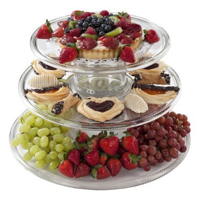 3-Tiered Serving Tower