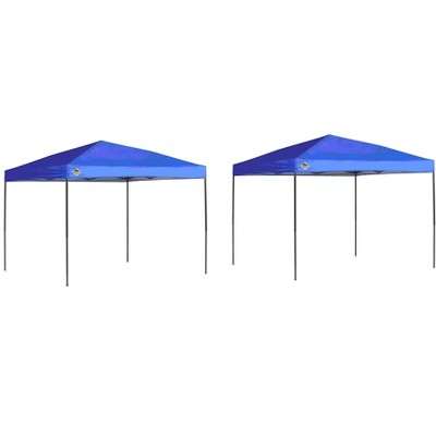 Quik Shade 10u0027 X 10u0027 Instant Straight Leg Pop Up Outdoor Canopy Shelter (2 Pack)  Target  sc 1 st  Target & Quik Shade 10u0027 X 10u0027 Instant Straight Leg Pop Up Outdoor Canopy ...