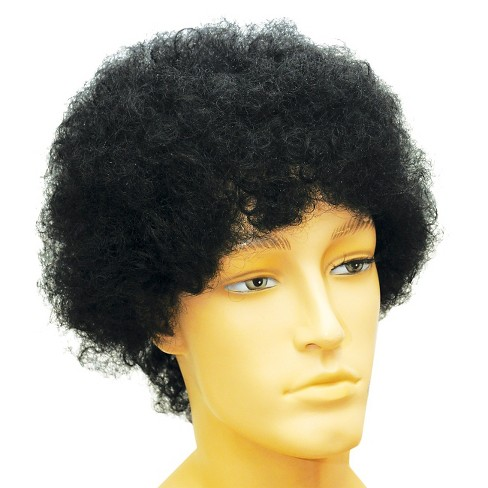Afro Costume Wig Black - One Size - image 1 of 1