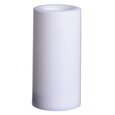 Outdoor LED Flameless Candle - 3 x6  - White - Project 62™