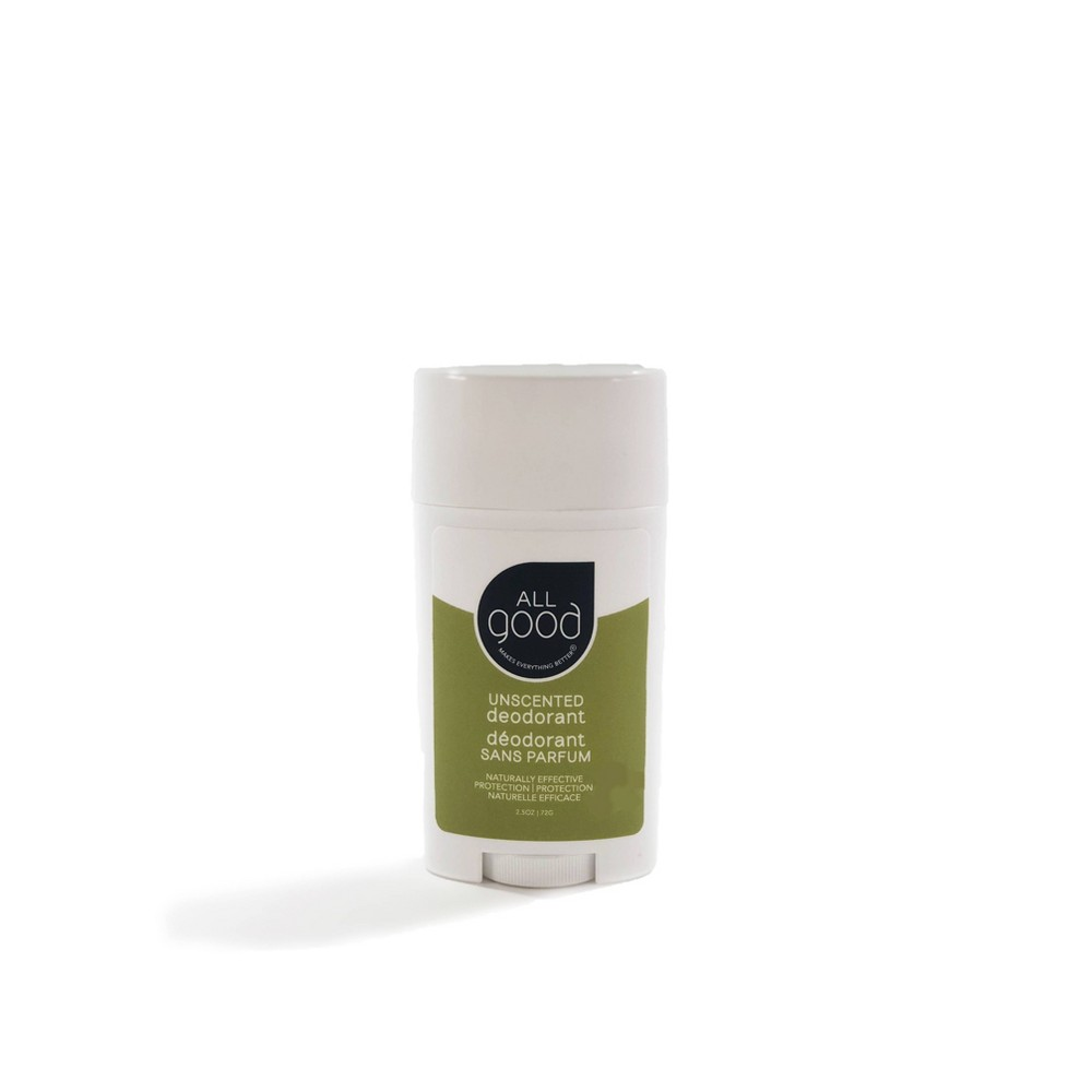 Image of All Good Unscented Deodorant - 2.5oz