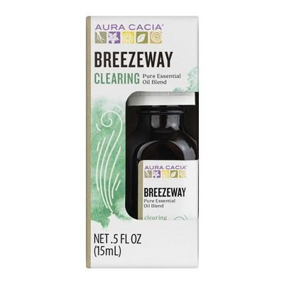 Aura Cacia Breezeway Essential Oil Blend - .5oz
