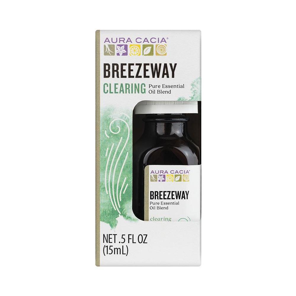 Image of Aura Cacia Breezeway Essential Oil Blend - .5oz