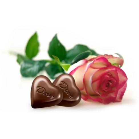 Dove Valentines Day Milk Chocolate Truffle Hearts 65oz Target
