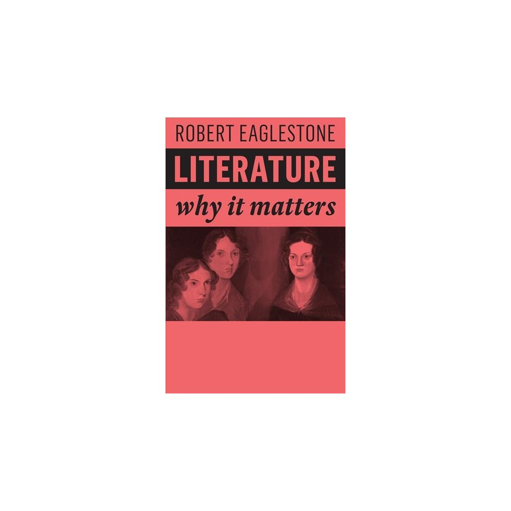Literature - (Why It Matters) by Robert Eaglestone (Paperback)