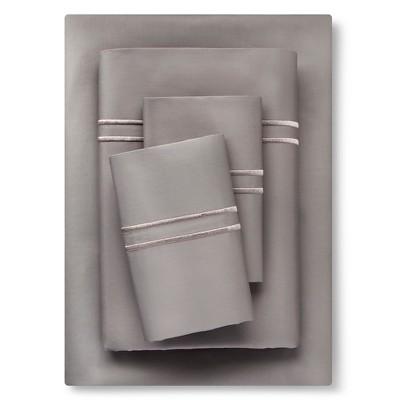 Supima Hotel Sheet Set (Queen)Skyline Gray Tonal - Fieldcrest™