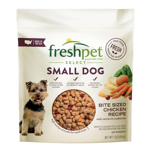 Small Refrigerated Wet Dog Food