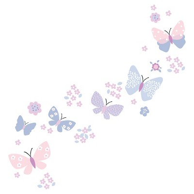 Bedtime Originals Wall Appliques - Butterfly Meadow