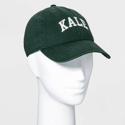 Adult Kale Baseball Hat - Green