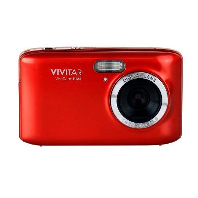 Vivitar ViviCam F128 14.1 Mega Pixel Digital Camera with 2.7 Inch LCD Screen in Red