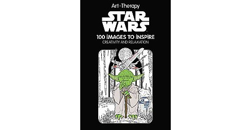 Star Wars Adult Coloring Book: 100 Images to Inspire Creativity and Relaxationby by Disney Editions - image 1 of 1